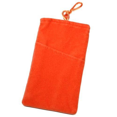 Schutzhülle, Weise Velour Orange XXL für Oppo Find 5Mini