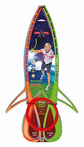 Preisvergleich Produktbild RingStix RX00309 - Wurfspiel Lite, 4 Stix und 1 Ring, Set für 2 Spieler