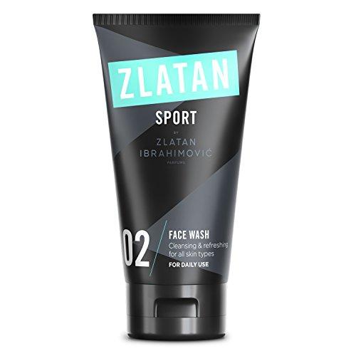 Best Face-wash Für Männer (Zlatan SPORT Face Wash - Männer Gesichtspflege - Vegan - Keine Entfernung von Naturölen - Tägliche Hautpflege für Männer von Zlatan Ibrahimović Parfums - 75 ml)