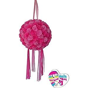 Piñata Feld von Blumen, mit Pompons. Hochzeit Piñata. Piñata Jahrestag (Optionaler Stick)