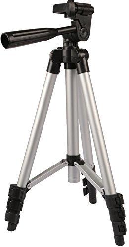 GPCT [leicht] KOMPAKT Aluminium Legierung Kamera/Camcorder Stativ. Dreht 360° horizontal/180° vertikal, 3-Wege-Swivel Pfanne Kopf Nikon/Kanone/Sony DSLR/Fuji/Panasonic/Samsung. Kostenloser Tragetasche. (Dslr-digitalkamera Kanone)