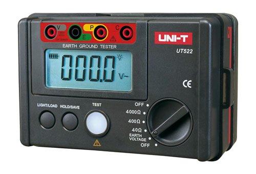 UNI-T ut-522Medidor de Resistencia de Tierra