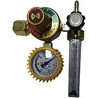 Profesional Argon CO2 Gas Mig Tig Medidor de flujo Control Soldadura Regulador de la soldadura Mig