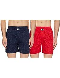 Symbol Amazon Brand Men's Printed Boxers