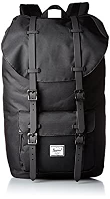 Herschel Supply Company Little America Casual Daypack, 51-inch, 13 Liters, Black