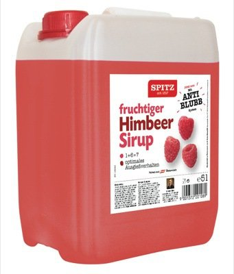 SPITZ HIMBEER Fruchtsirup 5 Liter Box