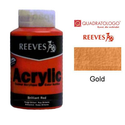 reeves-acrylfarbe-acrylic-hohe-pigmentierung-400ml-topf-gold