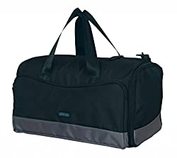 Protecta Alpha Gym & Travel Duffel (Black & Grey)