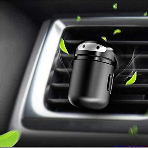 SIOJB Deodorante per Auto Mini Robot Vent Vent Diffusore di Profumo Diffusore di Automobili Automobili Balsamo Solido Interno Odore Purificatore d'Aria Accessori-Sfiati Clip con balsamo