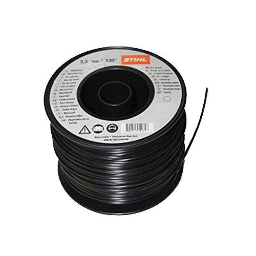 Filo di nylon 3.3mm x 140 metri nero per tagliaerba a frullino Stihl 0000 930 2622
