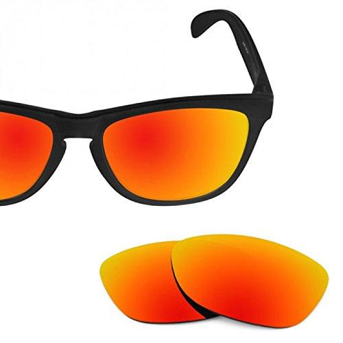 sunglasses restorer Basic Ersatzgläser Fire Iridium für Oakley Frogskins