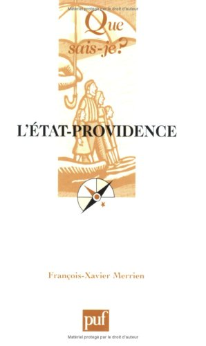 L'État-Providence par François-Xavier Merrien, Que sais-je?
