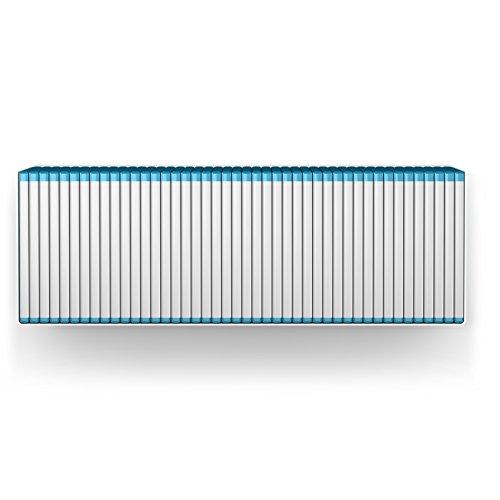 home3000 Blu-Ray Designregal in Weiß