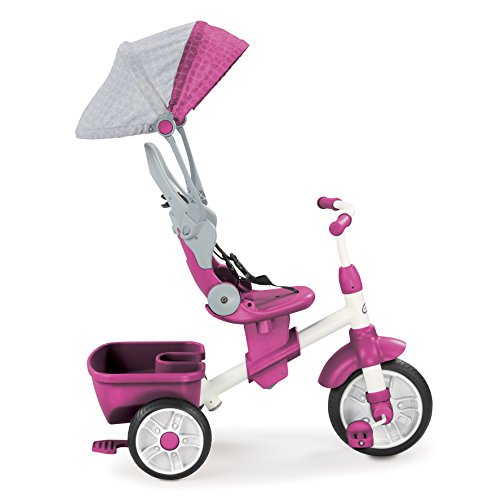 Little Tikes - Tricycle Perfect Fit - 4 en 1 - 4...