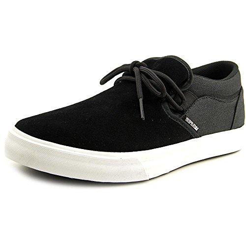 Supra Cuba, Sneakers Basses mixte adulte Noir - Schwarz (BLACK - WHITE 002)
