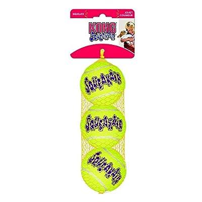 Kong Air Dog Squeaker Tennis Balls Small 3pack from Kong