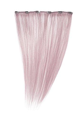 American Dream Einteilige 100% Echthaar-Clip-In-Extensions Farbe KAF4 - Baby Lila - 46cm, 1er Pack (1 x 1 Stück) (Lila Clip In Hair Extensions)
