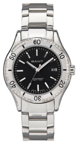 Gant GW10213 - Orologio da polso da donna, cinturino in acciaio inox colore argento