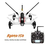 WALKERA RODEO 150 DRONE FPV + RTF + CAMERA + QUADCOPTER + DEVO7