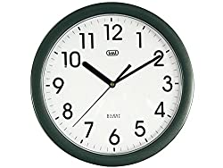 Orologio da parete; Movimento silenzioso SWEEP a secondi continui; 25 cm di diametro; Alimentazione: 1 batteria AA