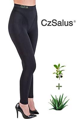 Figurformende Anti-Cellulite Caprihose (Leggings) mit ALOE+grüner Tee from Cizeta Srl