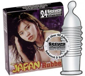 Preisvergleich Produktbild Secura Japan Rubber - 24 Kondome