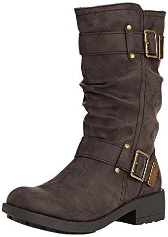 Rocket Dog Trumble, Women's Slouch Boots, Brown (Galaxy Brown), 7 UK (40 EU)