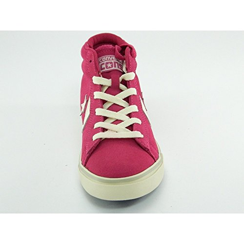 Leather M盲dchen Converse Pink Lb Vulc Pro 641632c Moda Suede Mid Schuhe q5aHxwAaR