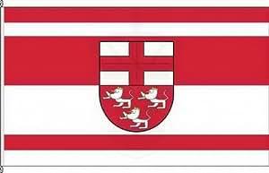 Königsbanner Hochformatflagge VG Zell (Mosel) - 150 x 500cm - Flagge und Fahne
