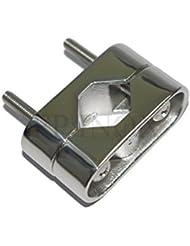 Etrier Support inox 316 Fixer tube Roll Bar
