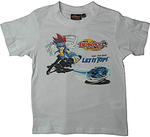 Beyblade Metal Fusion T-Shirt weiß