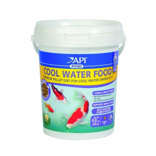 Api Cool Water Pond Fish Food 4mm Pellet 9oz