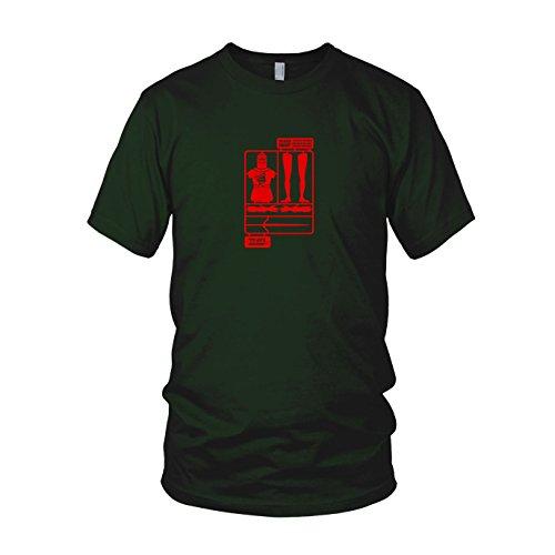 The Black Knight - Herren T-Shirt Dunkelgrün