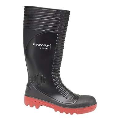 Dunlop Sicherheitsgummistiefel S5 - Schwarz 39