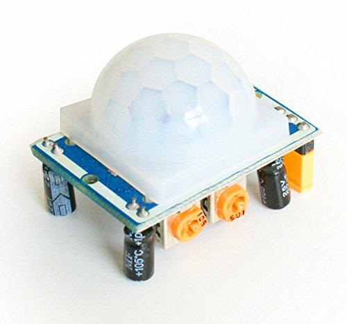 Preisvergleich Produktbild HC-SR501 Pyroelektrischer Bewegungssensor Infrarot PIR Motion-Sensor-Modul (HC-SR501 Bewegungssensor)