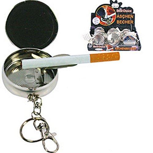 Aschenbecher für die Tasche als Schlüsselanhänger Reise Aschenbecher (Als Aschenbecher Schlüsselanhänger)