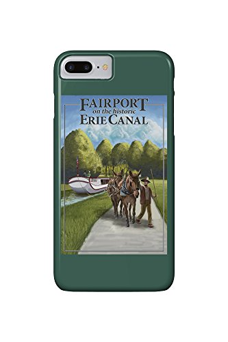 fairport-new-york-horses-along-canal-iphone-7-plus-cell-phone-case-slim-barely-there