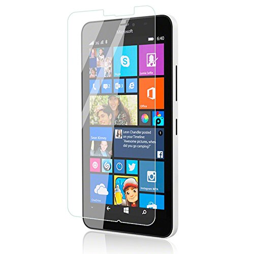 Snoogg Full Body Tempered Glass Screen Protector [ Full Body Edge to Edge ] [ Anti Scratch ] [ 2.5D Round Edge] [HD View] For Nokia Lumia 640 XL  available at amazon for Rs.165