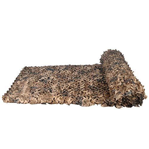 Filet de Camouflage , Auvents, Filet d'ombrage, Filet Solaire, Filet de Protection Solaire, voiles de bâche pour Tente, adapté au Camping en Plein air avec clôture, Couleur Sombre du désert