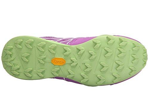 The North Face W Ultra Mt, Chaussures de Running Entrainement Femme Violet - Morado (Sweet Violet / Budding Green)