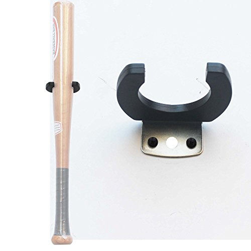 One Vertical Baseball Bat Softball Bat Display Wall Mount Wall Rack Wall Holder -Easy to Install- Hardware Included Test