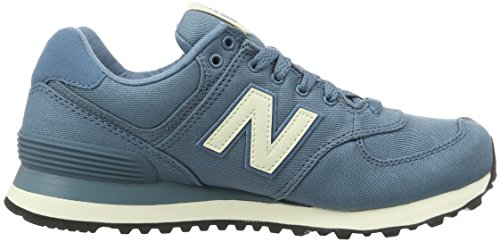 New Balance 574, Baskets Basses Femme Bleu (Turquoise)