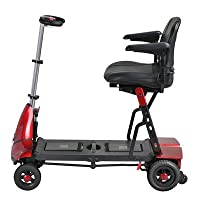 Solax Transformer / Monarch Smarti Automatic Foldable Scooter Color: Red