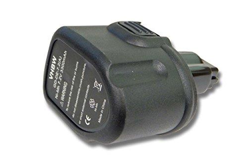 Vhbw Ni-MH batería 3300mAh 7.2V herramienta eléctrica
