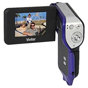 "Vivitar DVR950WHD 10.1MP Underwater HD Digital Camcorder Purple (Waterproof up to 10 feet, 2.4"" Screen, Li-Ion Battery)"