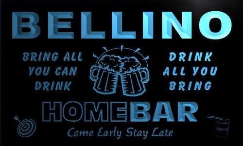 q03094-b-bellino-family-name-home-bar-beer-mug-cheers-neon-light-sign