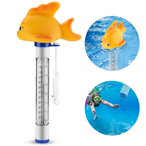 HERSITY 4 Stück Angelspiel Fisch mit Angelrute Badespielzeug Wasserspielzeug ...