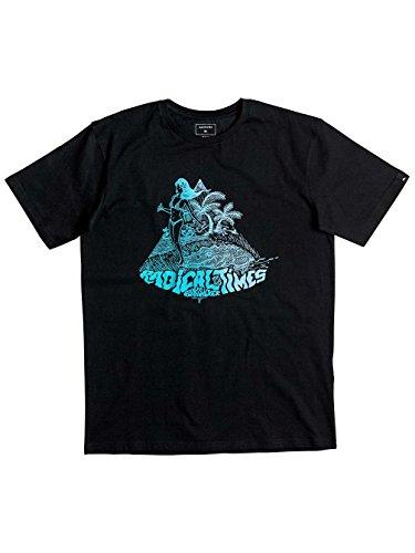 Herren T-Shirt Quiksilver Classic Crocoride T-Shirt Black