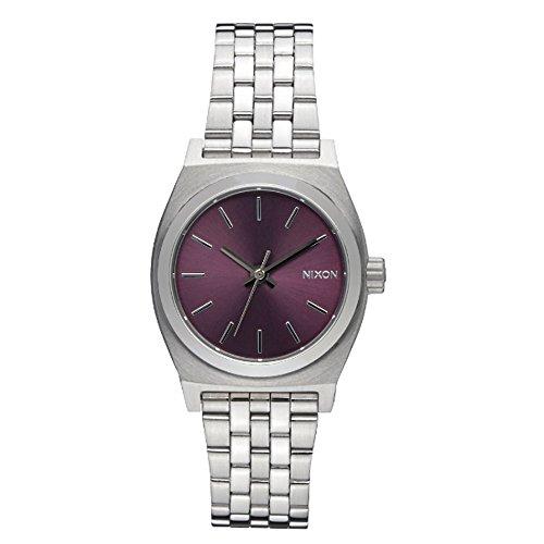 nixon-orologio-da-polso-small-time-teller-donna-analogico-quarzo-acciaio-inossidabile-a3992157-00