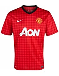 NIKE Kinder kurzärmliges Trikot Manchester United Boys Home Jersey